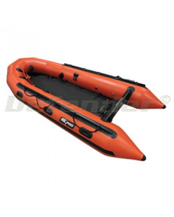 """Zodiac MilPro ERB400 Emergency Response Inflatable Boat, 13' 5"""", Red"""