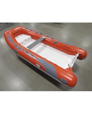 "Achilles HB-385DX Rigid Hull (RIB) 12' 8"", Red Hypalon, 2020"
