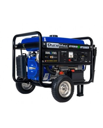 DuroMax XP5500EH 5,500-Watt 7.5 HP Electric Start Hybrid Powered Generator