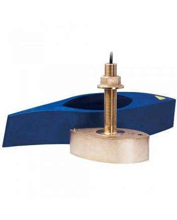 Garmin B265lh Bronze Thru-Hull Mount Transducer W/Depth & Temp - 12-Pin