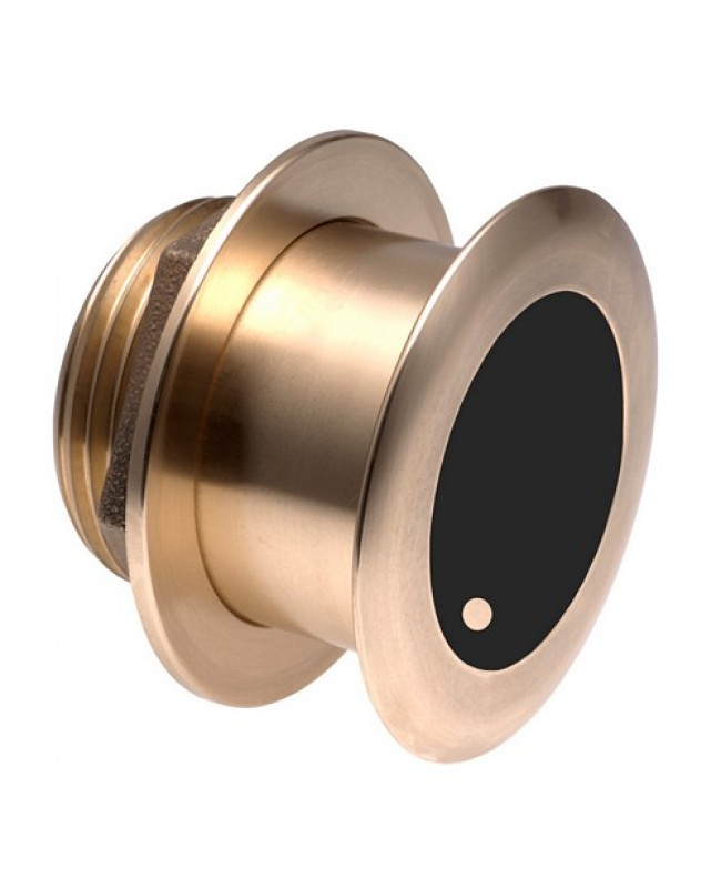 Garmin Bronze Thru-Hull Wide Beam Transducer W/Depth & Temp - 20 Degree Tilt, 8-Pin - Airmar B175hw