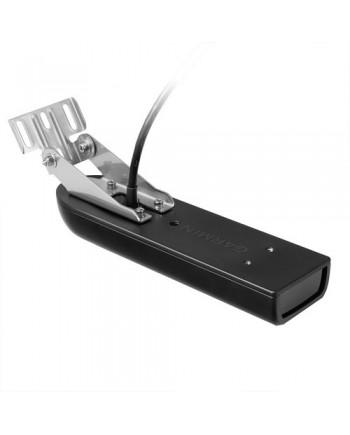 Garmin Gt51m-Tm Transom Mount Downvu/Sidevu 500w, Traditional 600w Transducer Mid-Band Chirp W/Temp - 12-Pin