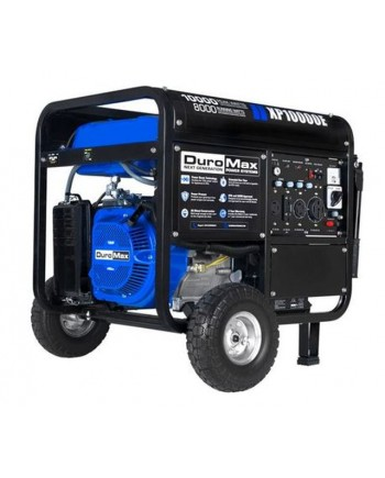 DuroMax XP10000E 10000-Watt 18-Hp Portable Gas Electric Start Generator RV Home Standby