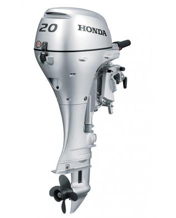 "2020 HONDA 20 HP BF20D3SH Outboard Motor 15"" Shaft Length"