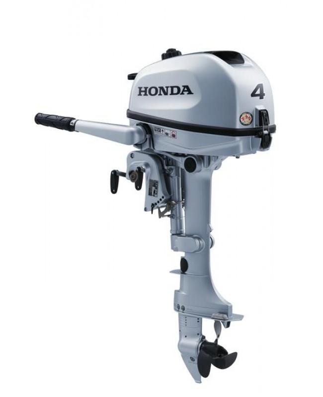 "2019 HONDA 4 HP BF4AHLHNA Outboard Motor 20"" Shaft Length"