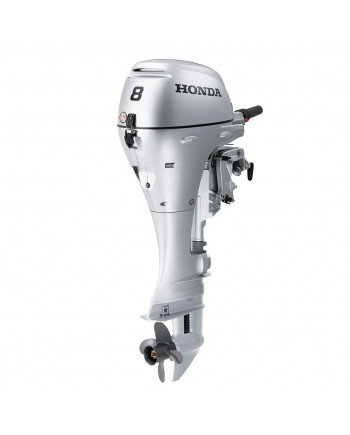 "2019 HONDA 8 HP BF8DK3LHSA Outboard Motor 20"" Shaft Length"
