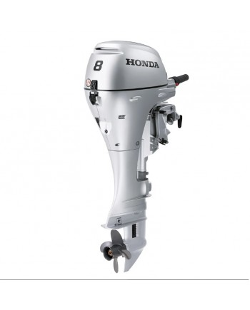 "2019 HONDA 8 HP BFP8DK3XHS Outboard Motor 25"" Shaft Length"