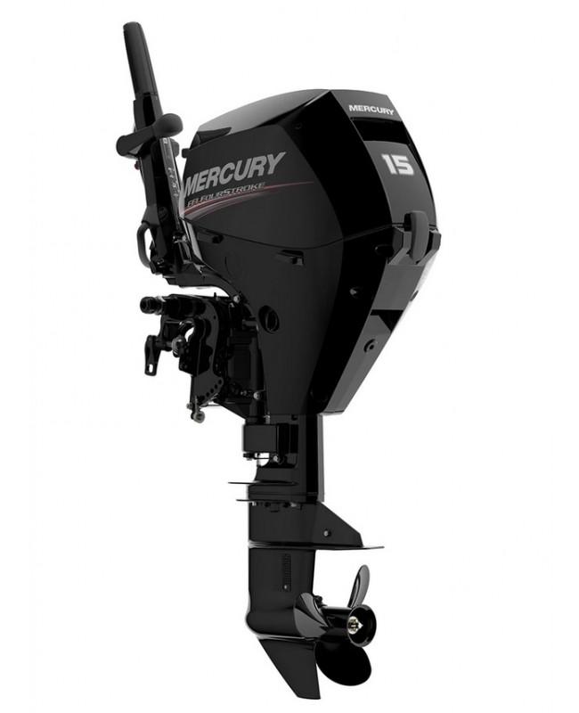 "2019 Mercury 15 HP EFI 15EH Outboard Motor 15"" Shaft Length"