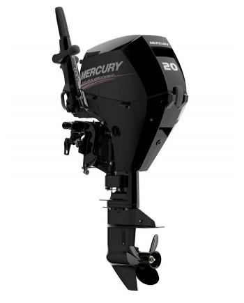 "2020 Mercury 20 HP EFI 20EH Outboard Motor 15"" Shaft Length"