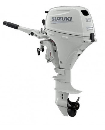 "Suzuki 15 HP DF15ASW2 Outboard Motor 15"" Shaft Length"