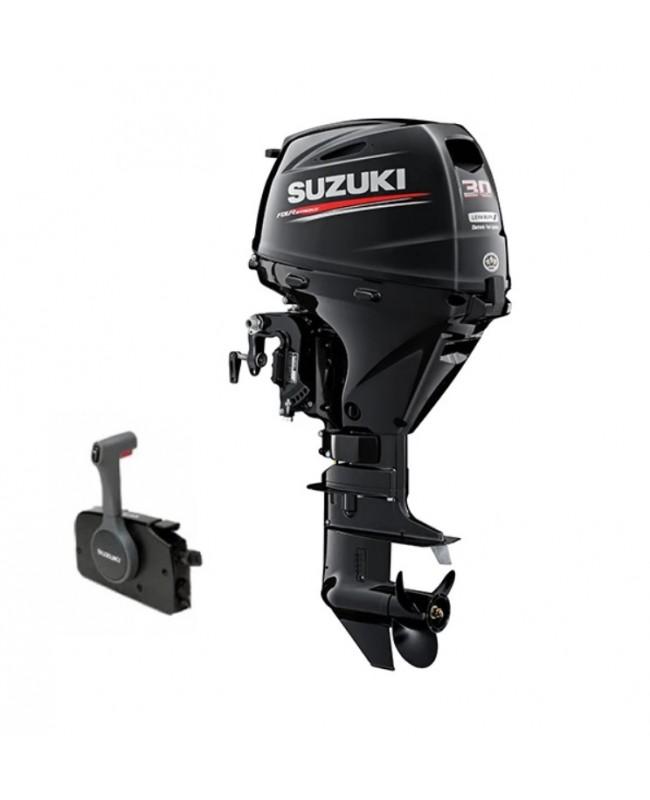 "Suzuki 30 HP DF30ATL2 Outboard Motor 20"" Shaft Length"