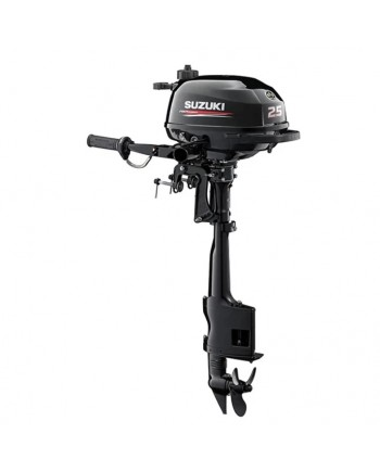 "Suzuki 2.5 HP DF2.5S2 Outboard Motor 15"" Shaft Length"