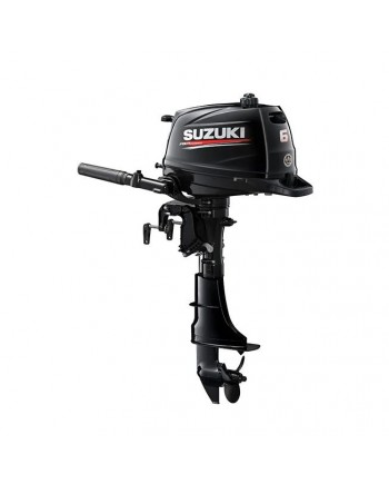 "Suzuki 6 HP DF6AL2 Outboard Motor 20"" Shaft Length"