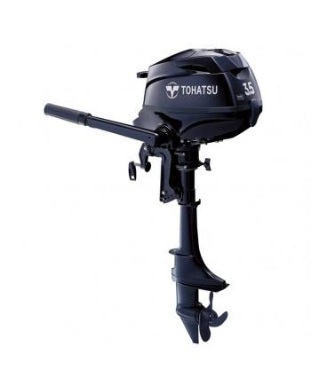 "2020 Tohatsu 3.5 HP MFS3.5BL Outboard Motor 20"" Shaft Length"