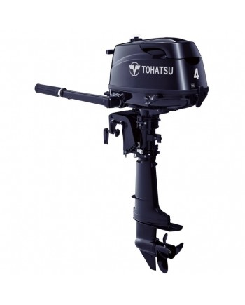 "2020 Tohatsu 4 HP MFS4CDL Outboard Motor 20""  Shaft Length"