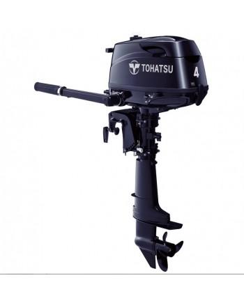 """2020 Tohatsu 4 HP MFS4CDS Outboard Motor 15"""" Shaft Length"""