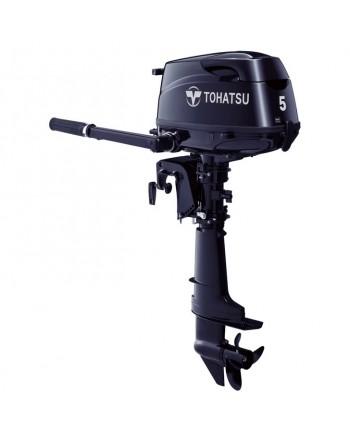 "2020 Tohatsu 5 HP MFS5CS Outboard Motor 15"" Shaft Length"