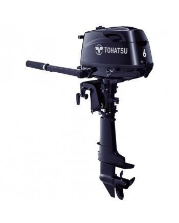"2020 Tohatsu 6 HP MFS6CL Outboard Motor 20"" Shaft Length"