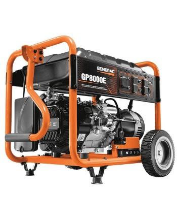 Generac 6954 420cc 8,000-Watt Electric Start Gas-Powered Portable Generator