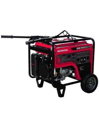 Honda EB6500X 389cc 6,500-Watt 120/240-Volt Recoil Start Industrial Gasoline Generator