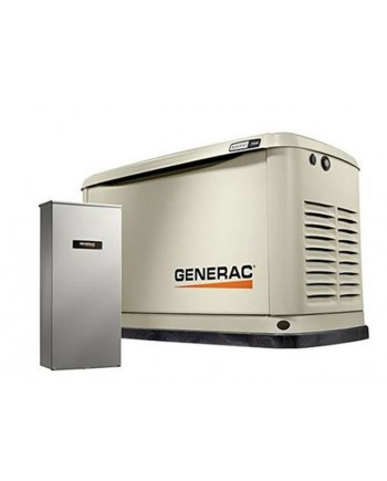 Generac Guardian™ 11kW Aluminum Standby Generator System (200A Service Disconnect + AC Shedding) w/ Wi-Fi