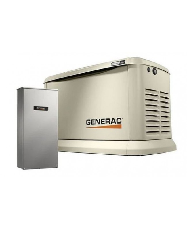 Generac Guardian 22kW Standby Generator System (200A Service Disconnect + AC Shedding) w/ Wi-Fi