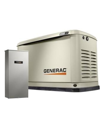 Generac 70361 16,000-Watt Air-Cooled Standby Generator w/ Transfer Switch