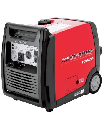 Honda EU3000iH 3,000-Watt 120-Volt Super Quiet Light Weight HANDI inverter Generator